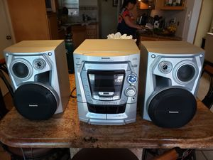 Panasonic CD stereo system for Sale in Cypress, CA