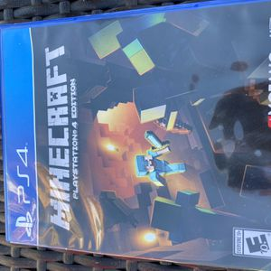 Minecraft game Ps4 for Sale in Fresno, CA