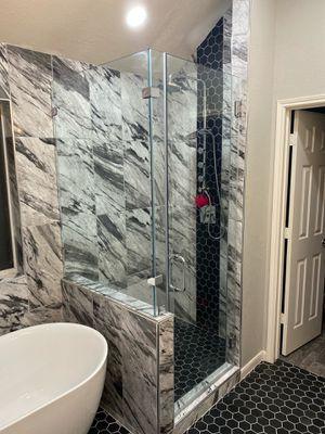 Frameless Shower Glass Door for Sale in Houston, TX
