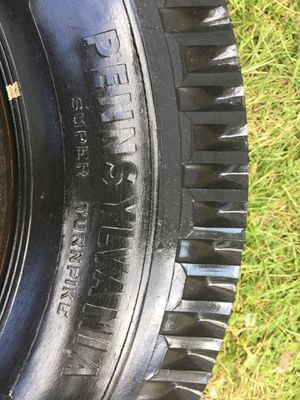 Set of 2 700-17 used tires for Sale in Paterson, NJ