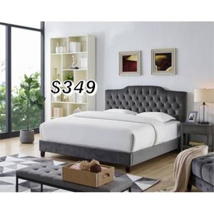 QUEEN BED FRAME AND MATTRESS INCLUDED for Sale in East Compton, CA