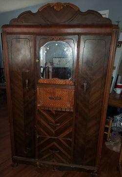 Antique Art Deco Armoire for Sale in Largo,  FL