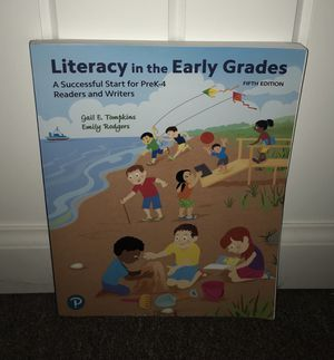 Literacy in the Early Grades 5th Edition by Gail E. Tompkins & Emily Rodgers for Sale in Hillsdale, NJ