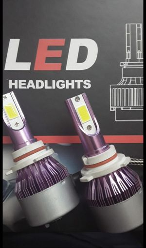 Super bright led headlights 25$ 1 year warranty free license plate LEDs with purchase plug and play system for all cars available 6000k hyper white for Sale in East Los Angeles, CA