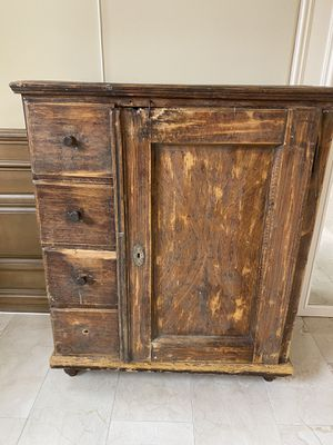 Antique chest-armoire. About 4.5 feet tell for Sale in Laguna Niguel, CA