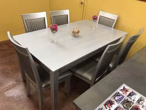 Dining table with chairs brand new in the box 📦 for Sale in Richardson, TX