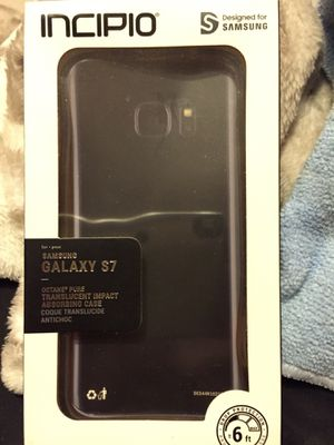 Samsung Galaxy S 7 new INCIPIO CLEAR CASE $8 for Sale in Wichita, KS