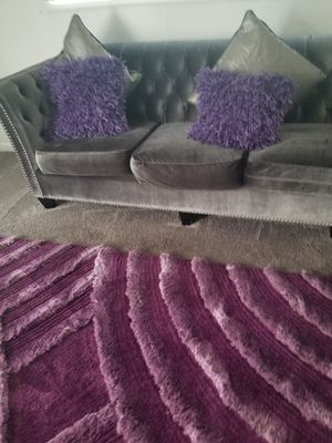 Dark Gray sectional couch for Sale in Columbus, OH
