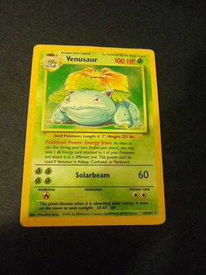 Venusaur 8/10 pokemon cards for Sale in Chicago, IL
