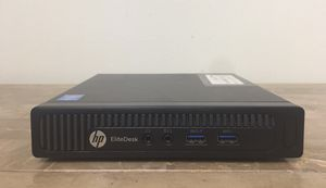 "Good HP Elitedesk 7"" inches Core i7 Corei7 4th gen. 8GB RAM 500GB HDD VGA DP Windows 10 desktop computer for Sale in Pembroke Pines, FL"
