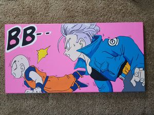 Dragon ball z krillin and trunks for Sale in Los Angeles, CA