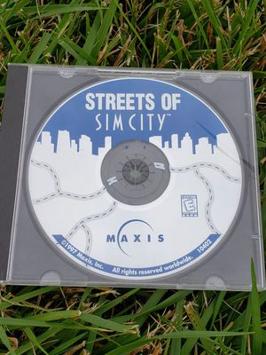 Streets of Sim City PC CD Disc Vintage game Maxis 2001 for Sale in Chambersburg, PA