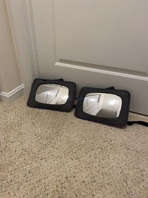 Baby car mirrors - set of 2 for Sale in Fairfax, VA