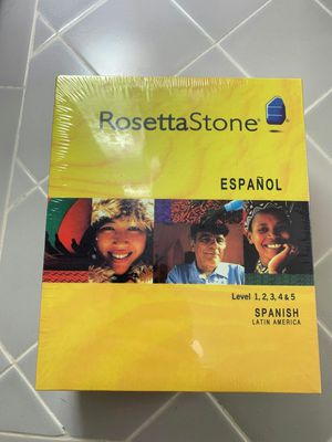Rosetta Stone Spanish, Latin America for Sale in Seattle, WA