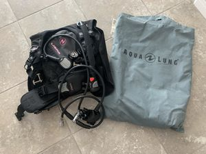 2 scuba BCD's respirators with digital gauge and one tank for Sale in Henderson, NV