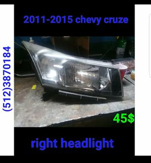 2011, 2012 ,2013 ,2014 ,2015 chevy cruze right headlight for Sale in Austin, TX