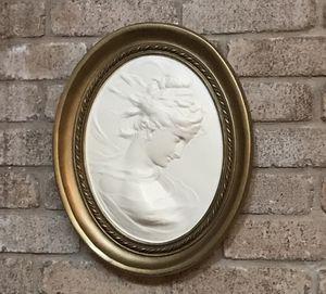 Antique Plaster Relief Wall Decor for Sale in San Antonio, TX