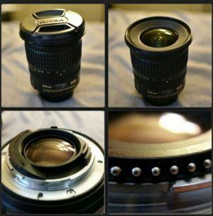 Lens Nikon AF-S Nikkor 10-24mm f/3.5-4.5G ED DX for Sale in Sacramento, CA