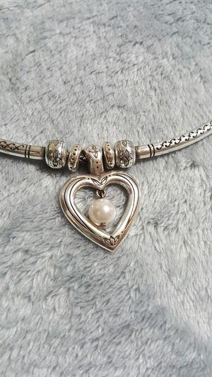 Brighton necklace silver for Sale in Stone Mountain, GA