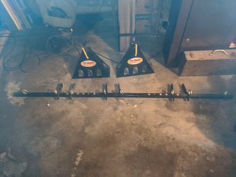 Removable trailer motorcycle tie down system for Sale in Long Beach,  CA