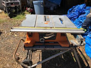 Rigid Table Saw for Sale in Lemon Grove, CA