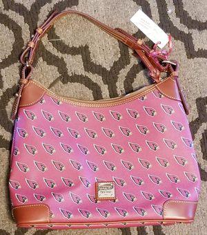 Dooney & Bourke Authentic Arizona Cardinals Zip Hobo Bag Purse Tote Gently Used for Sale in Phoenix, AZ