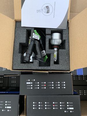 9005 /HB3/ H10 LED 72W 16000LM LED Car Headlight Low Beam Auto Bulbs 6500K White for Sale in Baldwin Park, CA