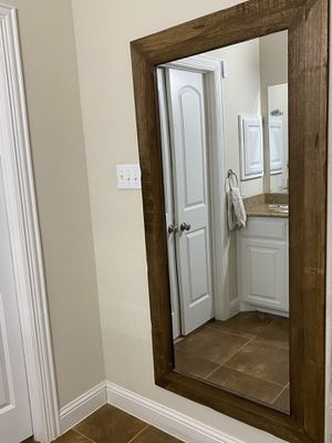Wooden Framed Mirror for Sale in Sachse, TX
