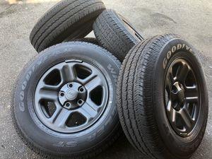 Jeep Wrangler jl 2019 Wheels Rims Tires for Sale in Hawthorne, CA