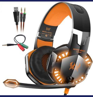 Kotion EACH G2000 Stereo Gaming Headset Deep Bass Computer Game Headphones for Sale in Herndon, VA