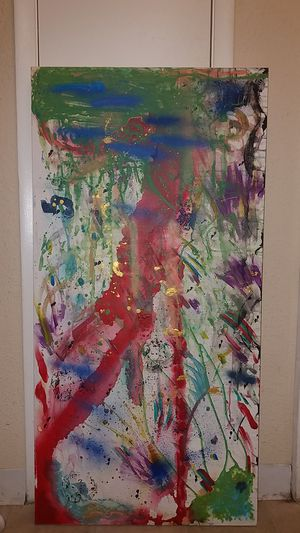 Nimble Wave 2018 Abstract Art By Amess for Sale in Sunrise, FL