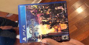Kingdom Hearts 3 PS4 for Sale in Philadelphia, PA