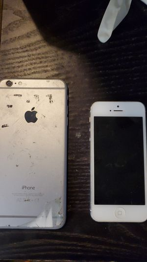 iPhone 5 and 6+ both damaged for Sale in Phoenix, AZ