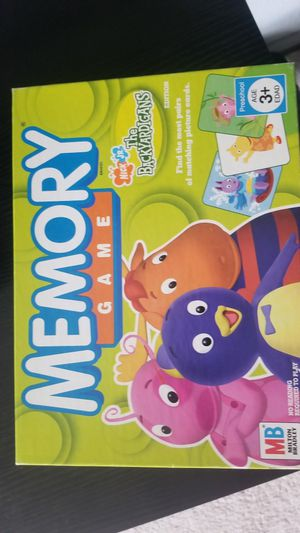 Nick Jr The Backyardigans Memory Game for Sale in Westminster, CO