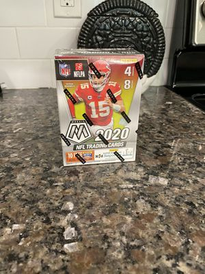 2020 Panini Mosaic NFL Football Sealed Blaster Box Factory Sealed for Sale in Orlando, FL