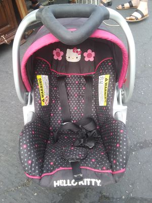 Hello Kitty car seat for Sale in Fresno, CA