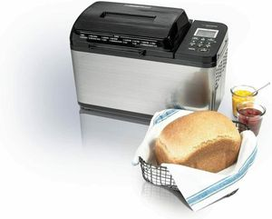 Zojirushi Home Bakery Virtuoso Plus Breadmaker, 2 lb. Loaf of Bread In Hand for Sale in Sewickley, PA