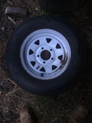 5 lug trailer tire 175/80/13r for Sale in Yacolt, WA