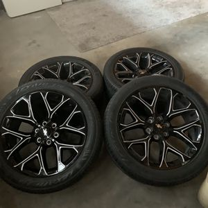 "22"" Chevy Rims for Sale in Visalia, CA"