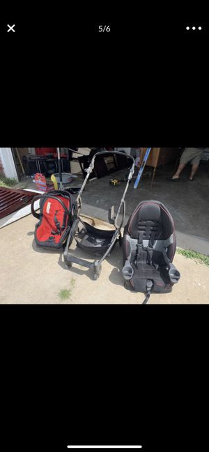 Stroller with car seat for Sale in Broken Arrow, OK