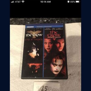 Double Feature Crow DVD for Sale in Fort Lauderdale, FL