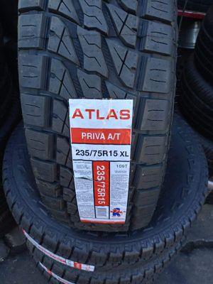 235/75/15 new tires atlas for Sale in Montebello, CA