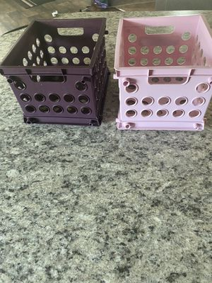 2 Mini Cube Organizers for Sale in Traverse City, MI