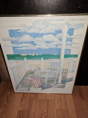 Glass picture for Sale in MARDELA, MD