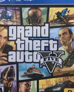 GTA 5 PS4 *Brand New* Grand Theft Auto Five for Sale in Bellevue,  WA