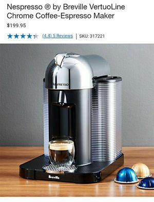 GREAT DEAL! 50% OFF Nespresso by Breville Vertuoline Coffee Maker! for Sale in Boston, MA
