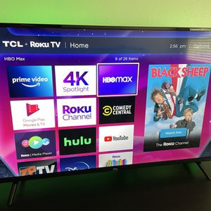 TCL 50 Inch 4K TV for Sale in San Marcos, CA