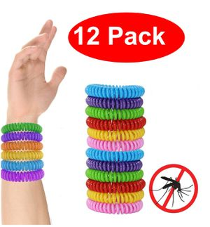 pack of 12 Mosoquit mosquito repelling bands/repels insects, one size fits all for Sale in Ontario, CA