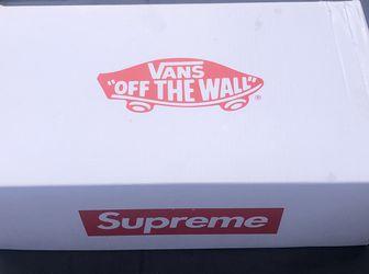 Supreme x Van Sneaker for Sale in Spring City,  TN