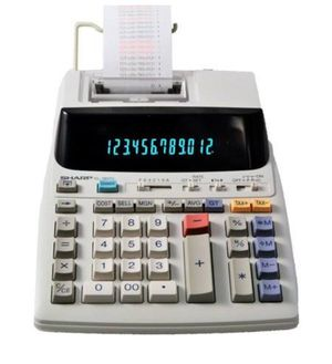 Sharp EL-1801V 12 Digit Printing Calculator for Sale in Pleasant Grove, UT